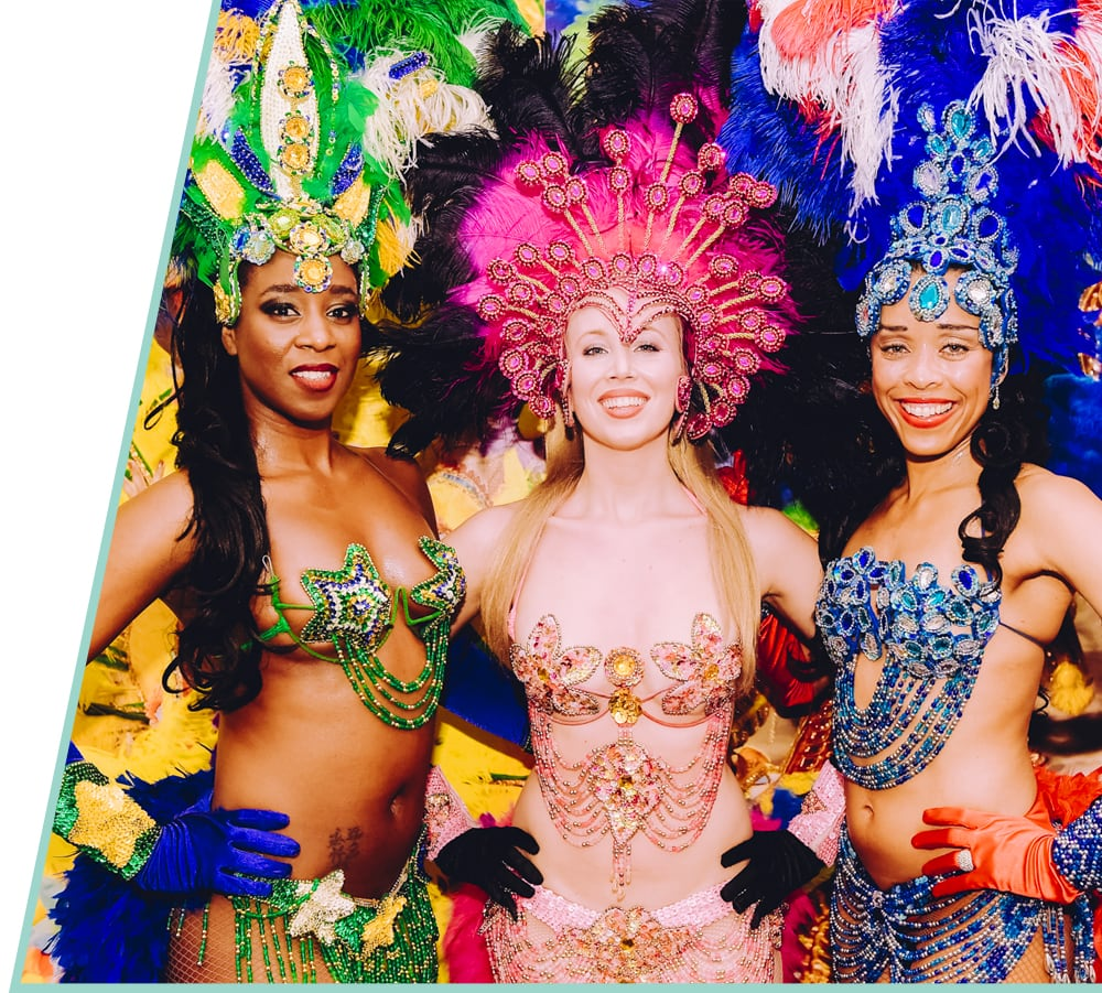 Rio carnival theme party